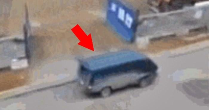 Čovjek nije mogao vjerovati svojim očima kad je vidio što je snimio ispred jednog gradilišta