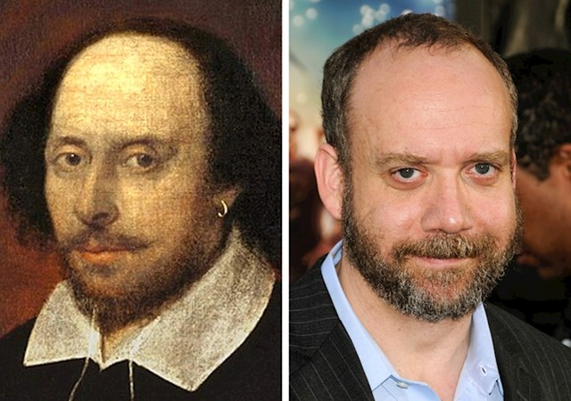 William Shakespeare i glumac Paul Giamatti