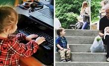 15 slika male djece koja su svojim potezima svima istopili srca