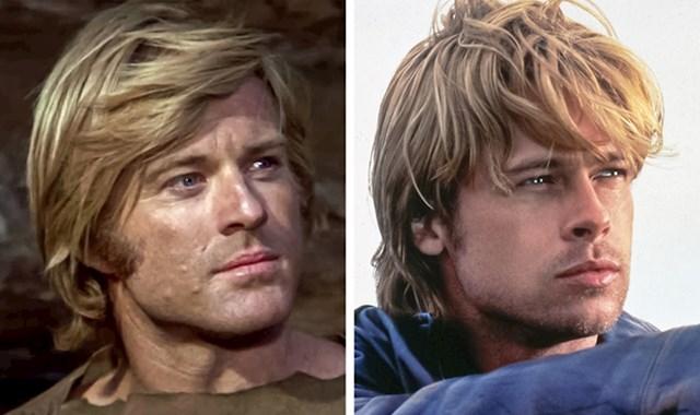 Robert Radford & Brad Pitt