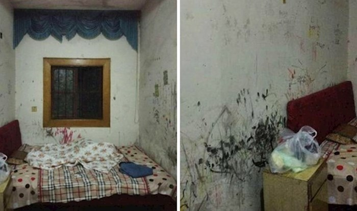 Soba u kojoj živi izgledala je kao prljava zatvorska ćelija, nakon preuređenja je neprepoznatljiva