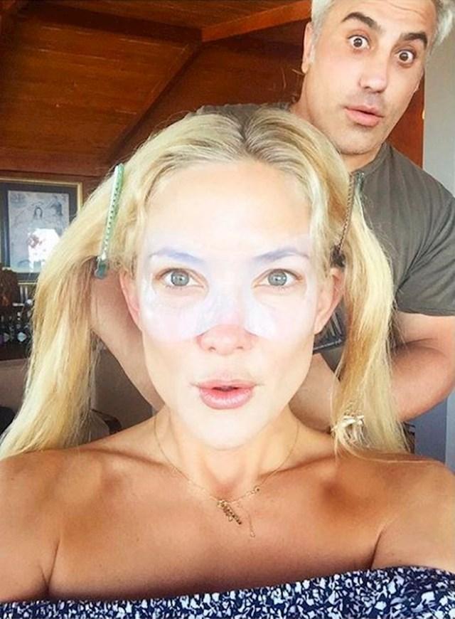 Kate Hudson - maske za lice od leda