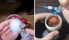 """VIDEO Ovaj čovjek je otvorio jaje i na nevjerojatan način """"stvorio"""" pile"""