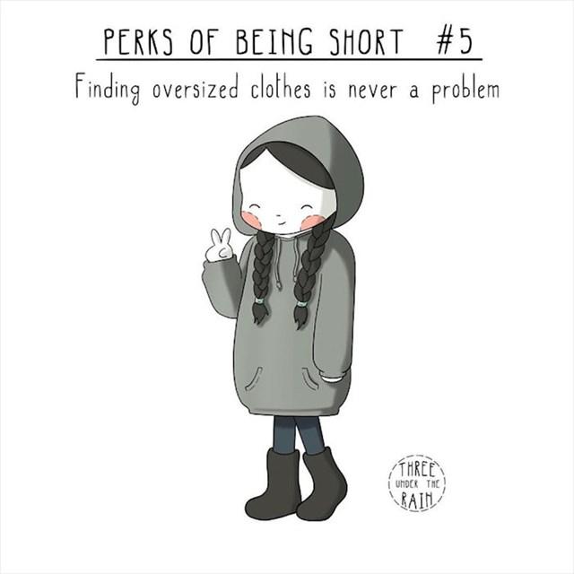 #5 Nije vam teško naći preveliku udobnu odjeću.