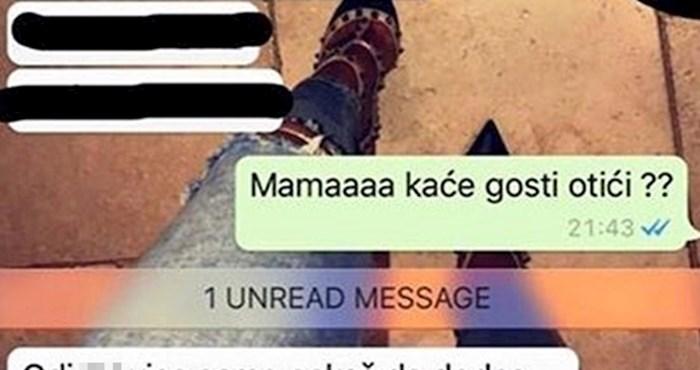 Mama je na kćerino pitanje ljuto odgovorila i otkrila da zna njene namjere