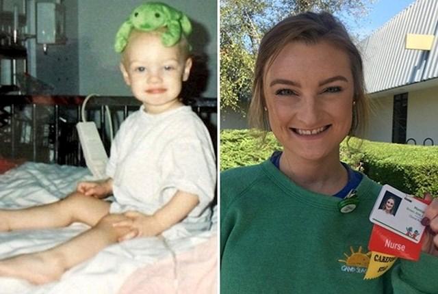 Kao dijete je pobijedila rak, a 20 godina kasnije se vratila u istu bolnicu - kao medicinska sestra.
