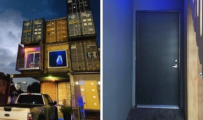 Izvana izgleda kao hrpa posloženih kontejnera, no unutrašnjost ovog doma će vas oduševiti