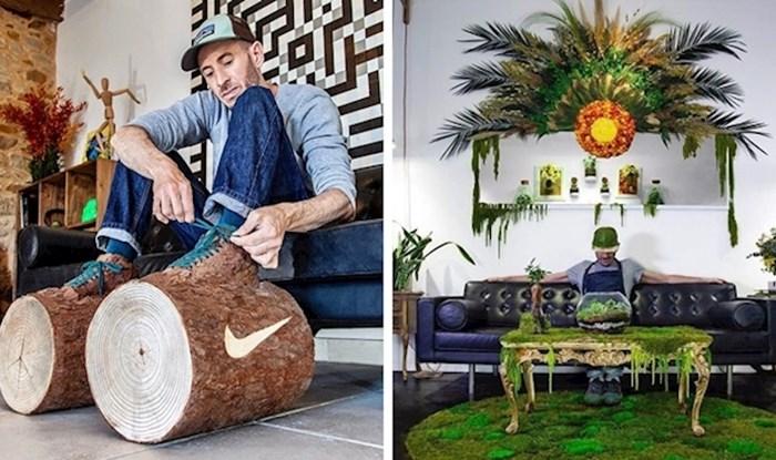 Ovaj lik kombinira biljke sa svakodnevnim predmetima kako bi napravio genijalne stvari