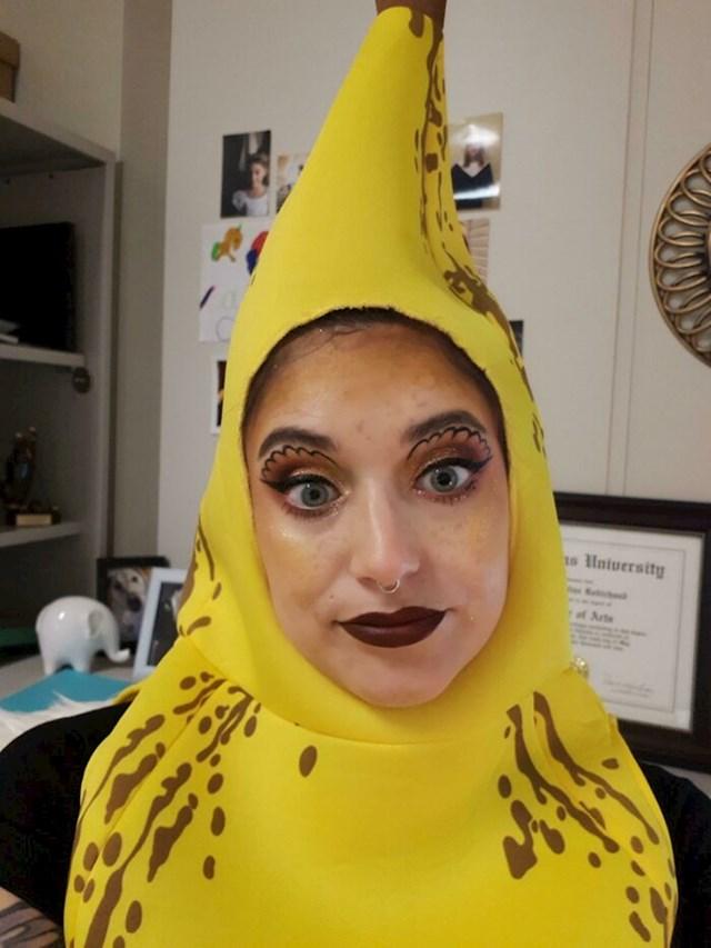 """""""Ja sam bila jedina budala u uredu koja je došla u kostimu. Bila sam u banani."""""""