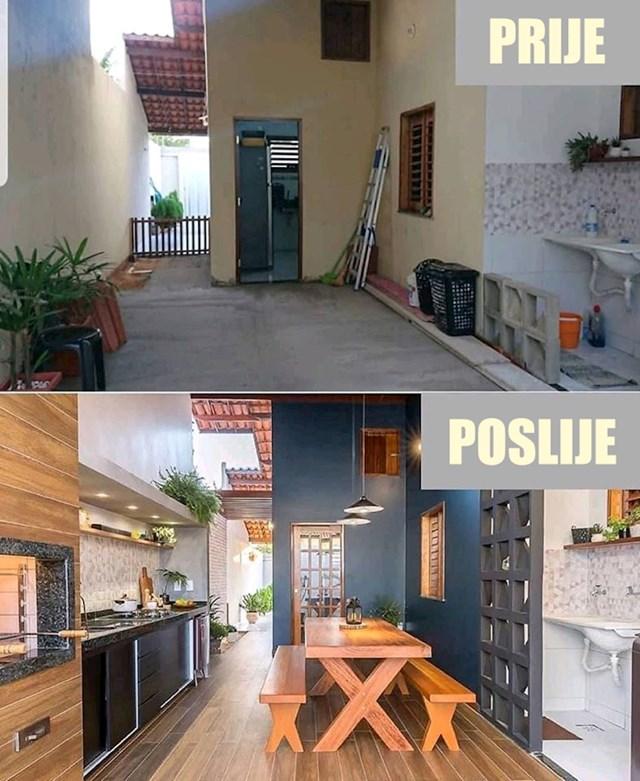 Pogledajte kako je terasa izgledala prije, a kako nakon radova:
