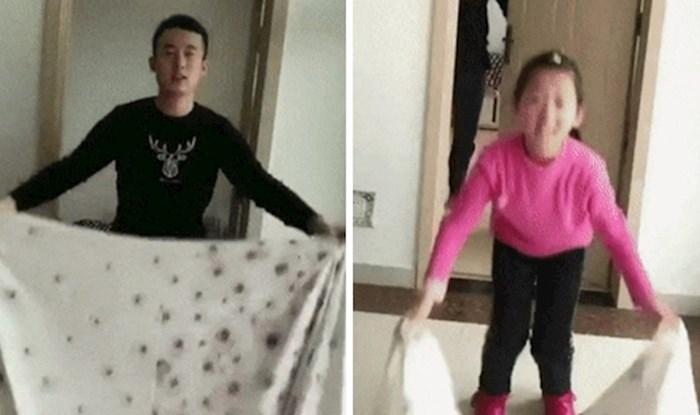 Sestri je pokazao kako se izvodi trik, no onda ju je nešto jako naljutilo