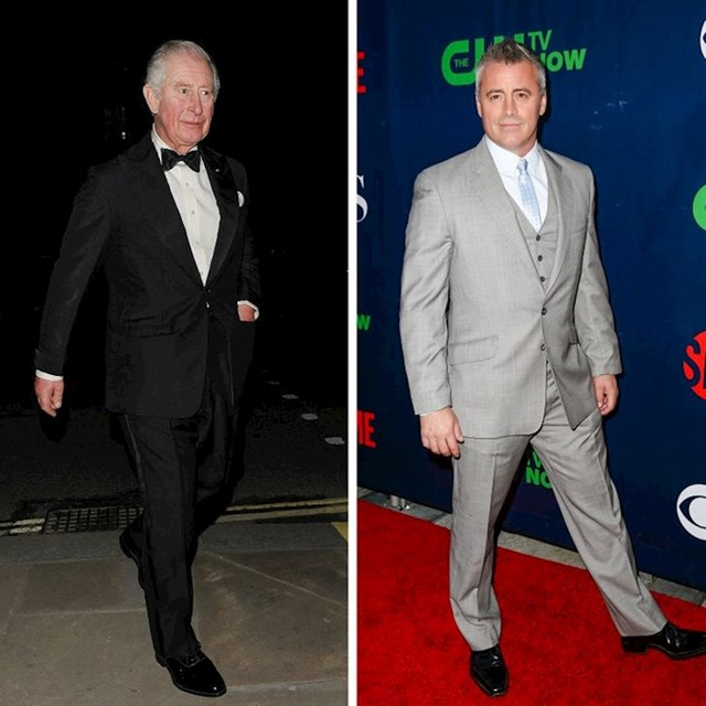 Princ Charles i Matt LeBlanc - 178 cm