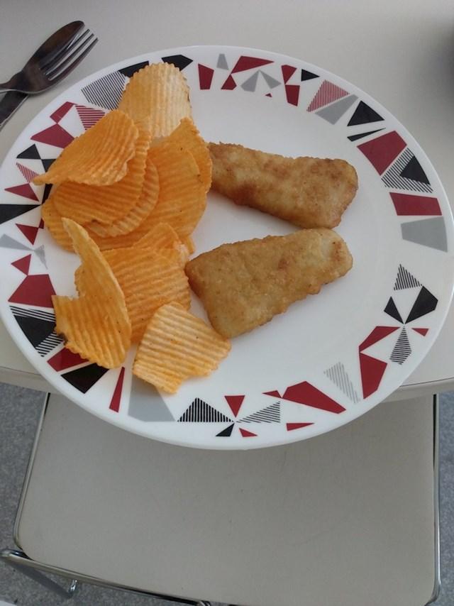 """""""Riba i čips!"""""""