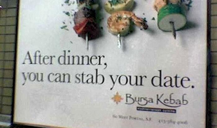 20 najgorih slogana u povijesti reklama: Zar stvarno nisu primijetili da ovo zvuči čudno i neprimjereno?