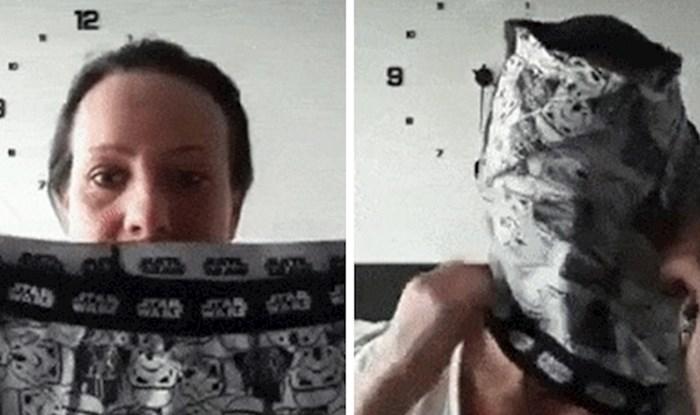Jeste li znali da se maska za lice može napraviti i od muških bokserica?