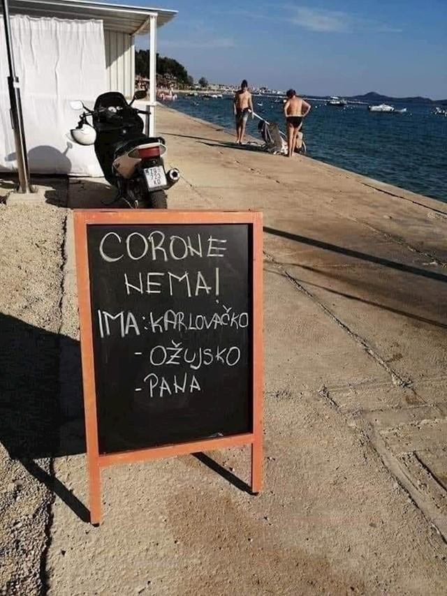 U njihovom kafiću nema Corone, ali zato imaju nešto drugo...