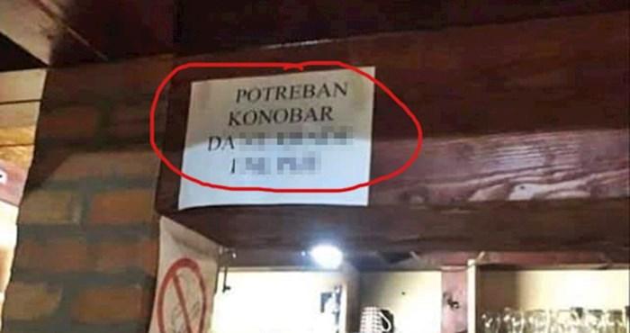 Oglas za posao u ovom kafiću nasmijao je goste, pogledajte koga traže