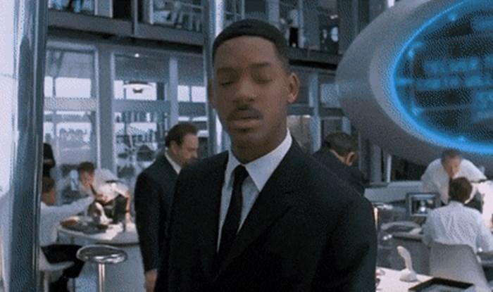 Dok su gledali film s Willom Smithom primijetili su zanimljiv detalj koji ih je nasmijao