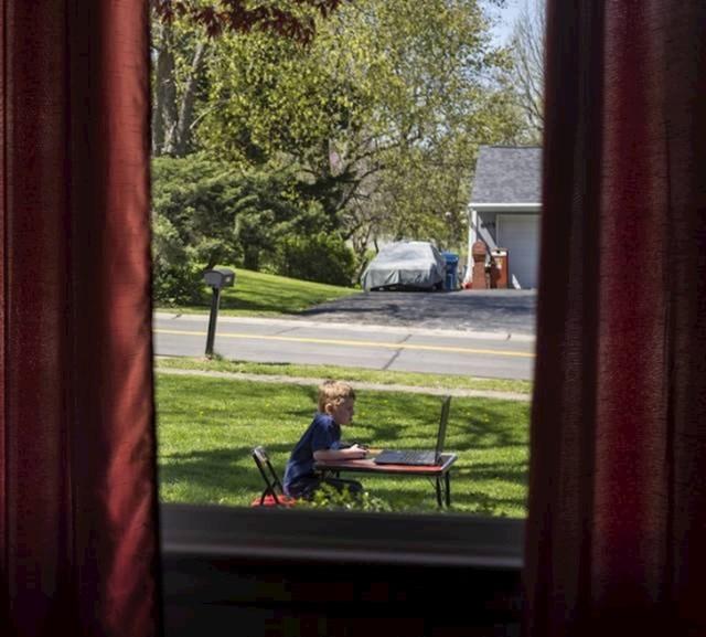 """""""Nisam mislila na ovo kad sam sinu rekla da je vani lijepo i da bi trebao izaći van i igrati se."""""""