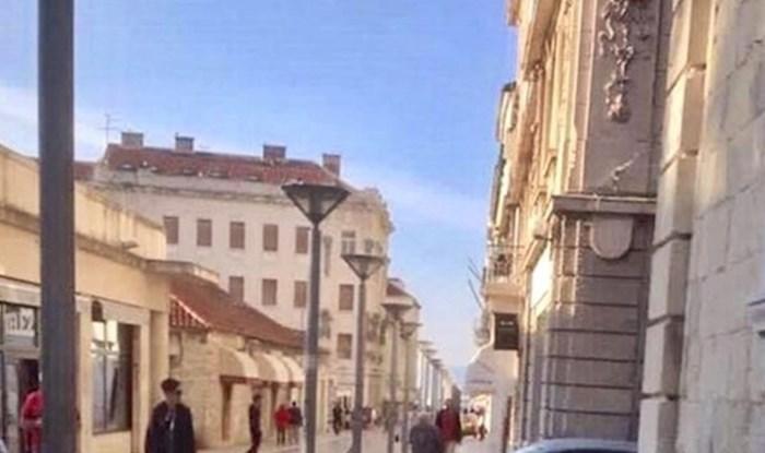 Hodali su centrom Splita, a onda su ugledali turiste koji su također pokušavali doći do Rive