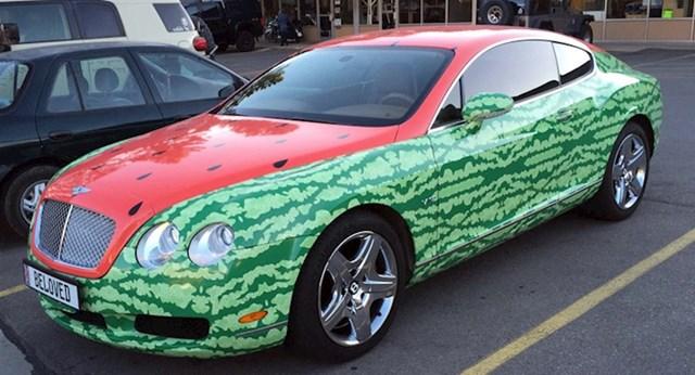 Auto-lubenica