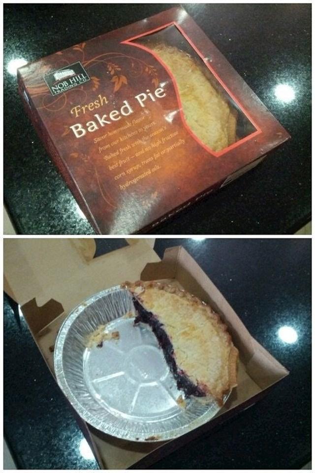 Rekao je sestri da će joj donijeti pitu...