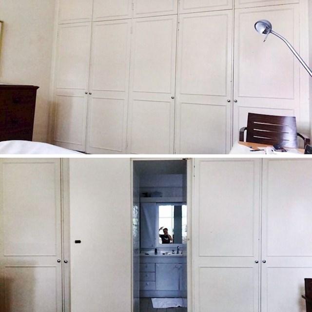 """""""Moji roditelji u spavaćoj sobi imaju ormar iza kojeg se zapravo krije još jedna prostorija!"""""""