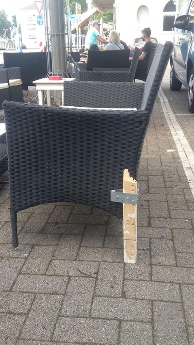 Pogledajte kako su popravili ovu stolicu: