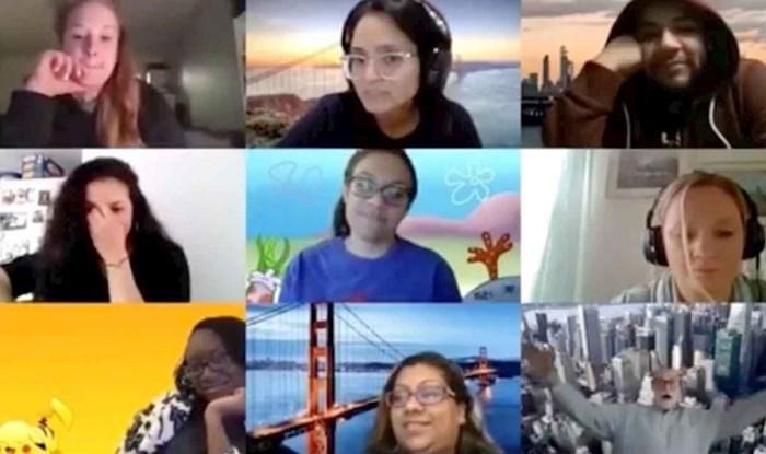 VIDEO Sat online predavanja postao je viralni hit kad je profesor pao sa stolice