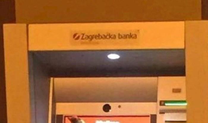 Čovjek je išao do bankomata po novac, nije mogao vjerovati što ga je dočekalo