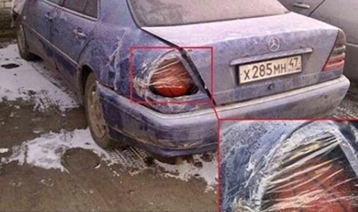 15 smiješnih slučajeva kad su ljudi sredili svoje aute na jako čudan način