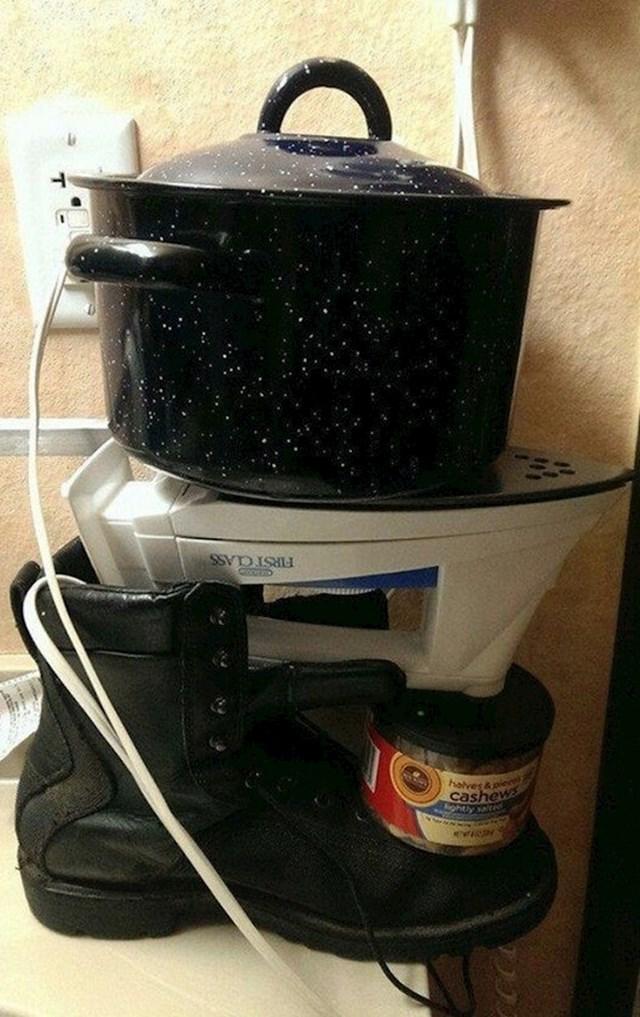 Kako kuhati bez štednjaka...