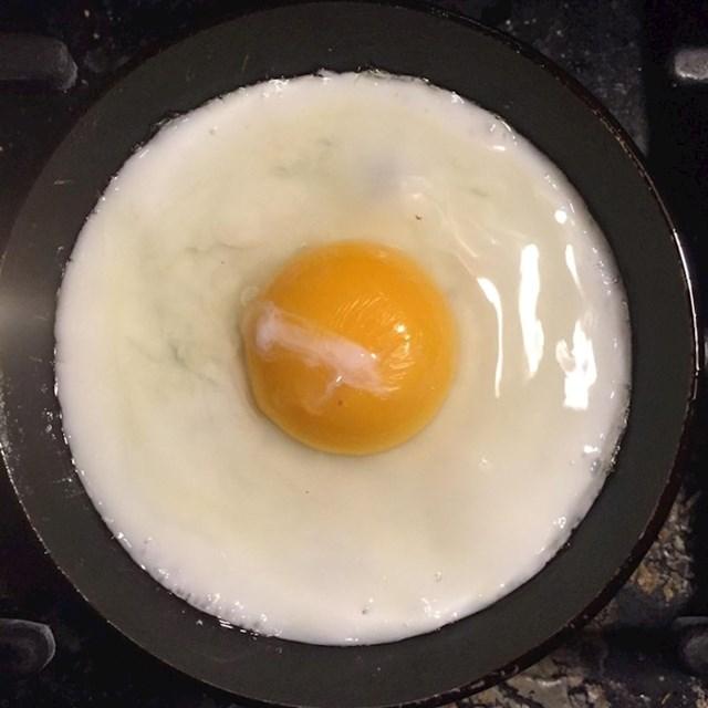 Savršeno okruglo pečeno jaje!