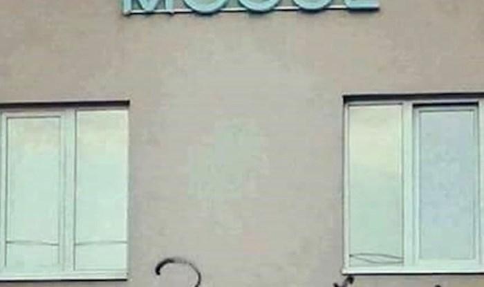 Bili su ljuti kad su vidjeli fasadu na svojoj zgradi, pogledajte što je netko napisao
