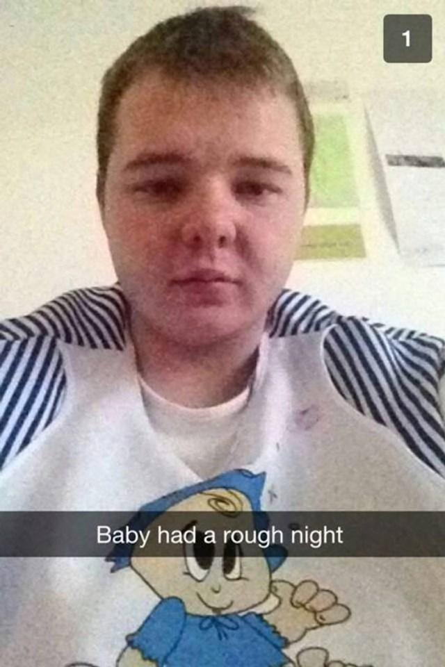 """""""Beba"""" je imala tešku noć."""
