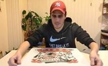 VIDEO Naručio je pizzu iz najgore pizzerije u gradu, evo koliko je čekao i što je dobio