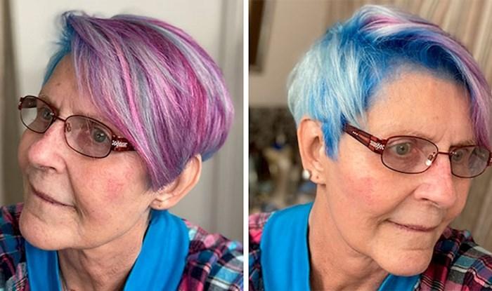 Evo što se dogodi kad stariji ljudi odaberu moderne frizure i neobične boje kose