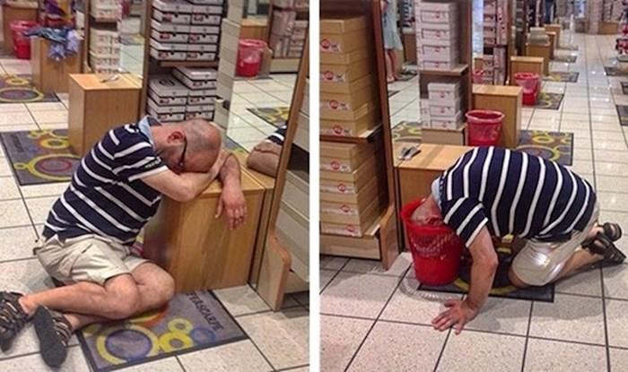 25 urnebesnih fotografija muškaraca koji su patili dok su njihove partnerice uživale u shoppingu