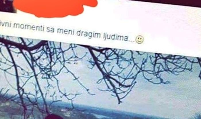 Nije računala na ironiju: Na društvenim mrežama je podijelila fotku, no nešto na njoj je nasmijalo prijatelje