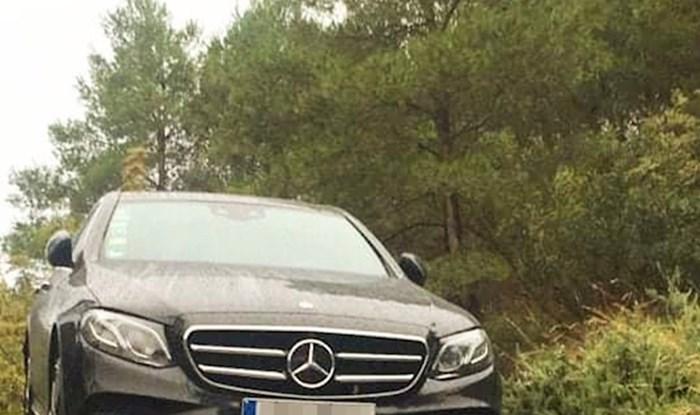 Vlasnik Mercedesa u problemima: Netko je slikao zbog čega će ovo pogrešno skretanje dugo pamtiti