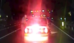 VIDEO Policajac je mislio da vozač laže kako bi opravdao brzu vožnju, a onda je vidio bebinu glavu