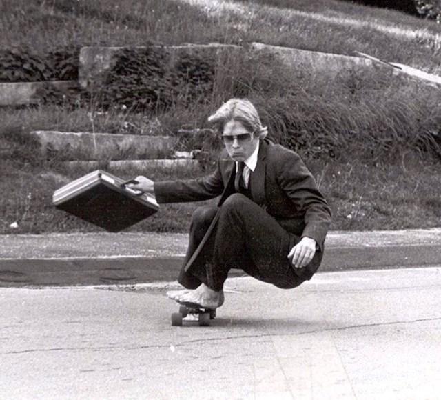 Vožnja skateboardom u školi Hyde, 1982.