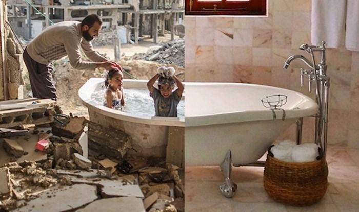 Umjetnik pomoću spojenih fotografija prikazuje tužnu stranu svijeta u kojem živimo