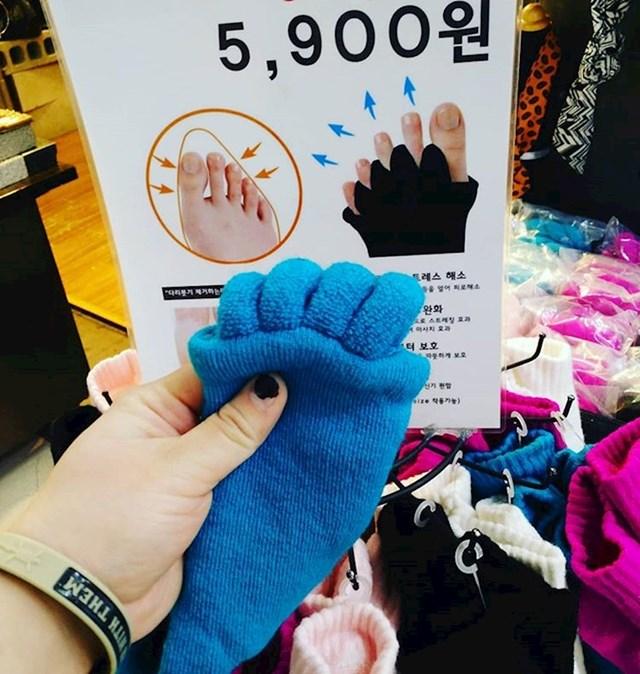 S ovim čarapama ćete se lakše opustiti nakon napornog dana.