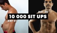10 000 sit-upa u 30 dana