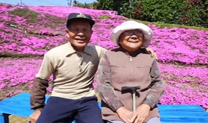 Muškarac je zasadio gomilu cvijeća kako bi njegova slijepa žena uživala u mirisu