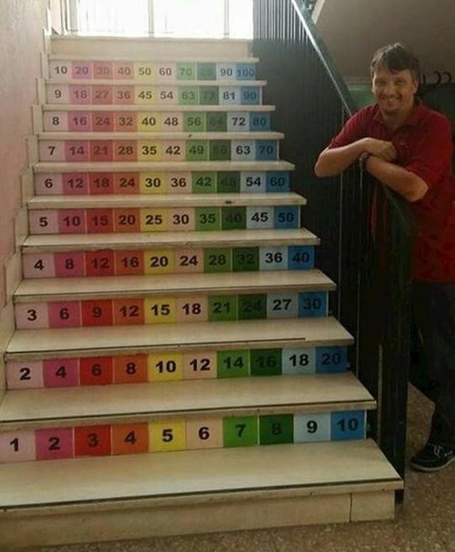 Ovako se uči tablica množenja!