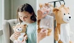 Djevojčica koja pati od neobične bolesti stvorila je medvjediće u kojima se mogu sakriti vreće za infuziju
