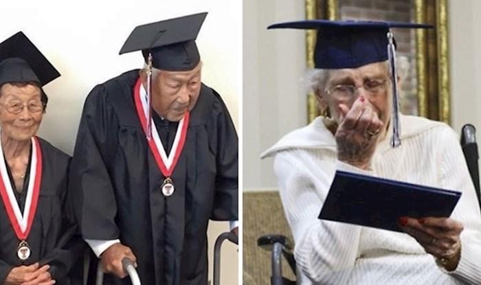 18 predivnih fotografija starijih diplomanata koji dokazuju da za neke stvari nikad nije kasno