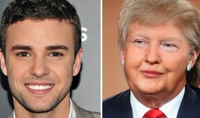 Pogledajte kako bi izgledalo kada bi se dva lica poznatih osoba spojila u jedno